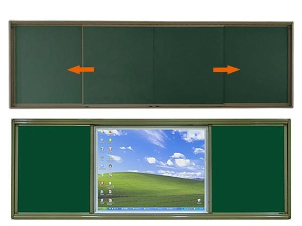 专业推拉黑板厂家详谈推拉黑板有哪些优势-优雅乐