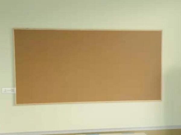 江阴某幼儿园软木板安装完毕