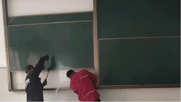 教室黑板怎么安装,现场1对1安装调试-优雅乐