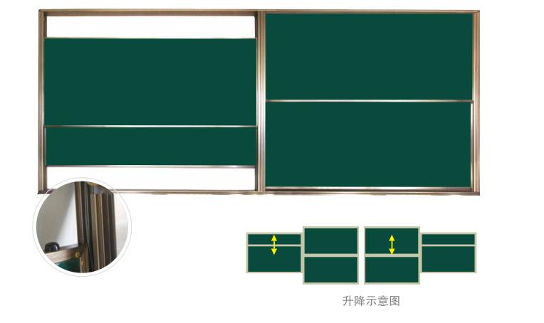 升降组合绿板