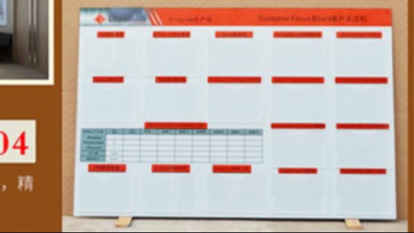 生产订单完成进度管理看板