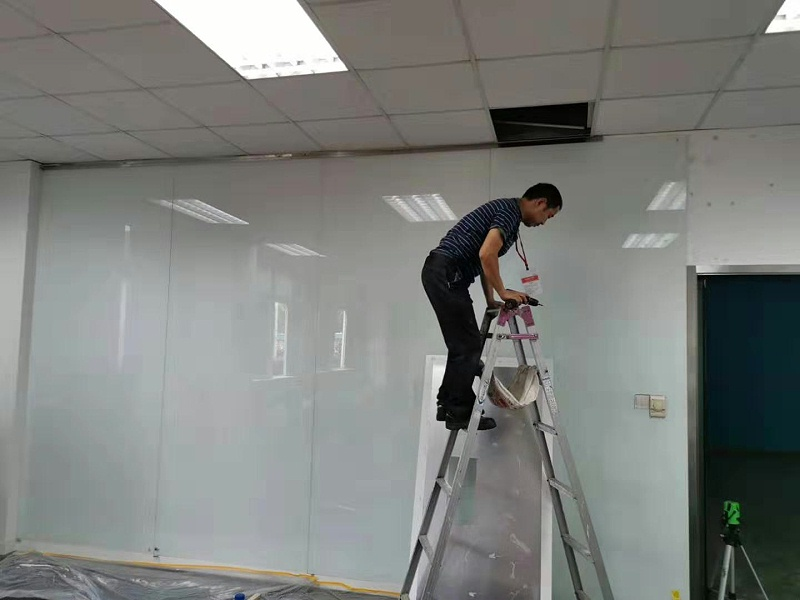 玻璃墙安装-优雅乐