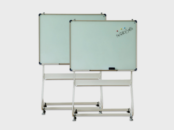 钢化玻璃支架白板