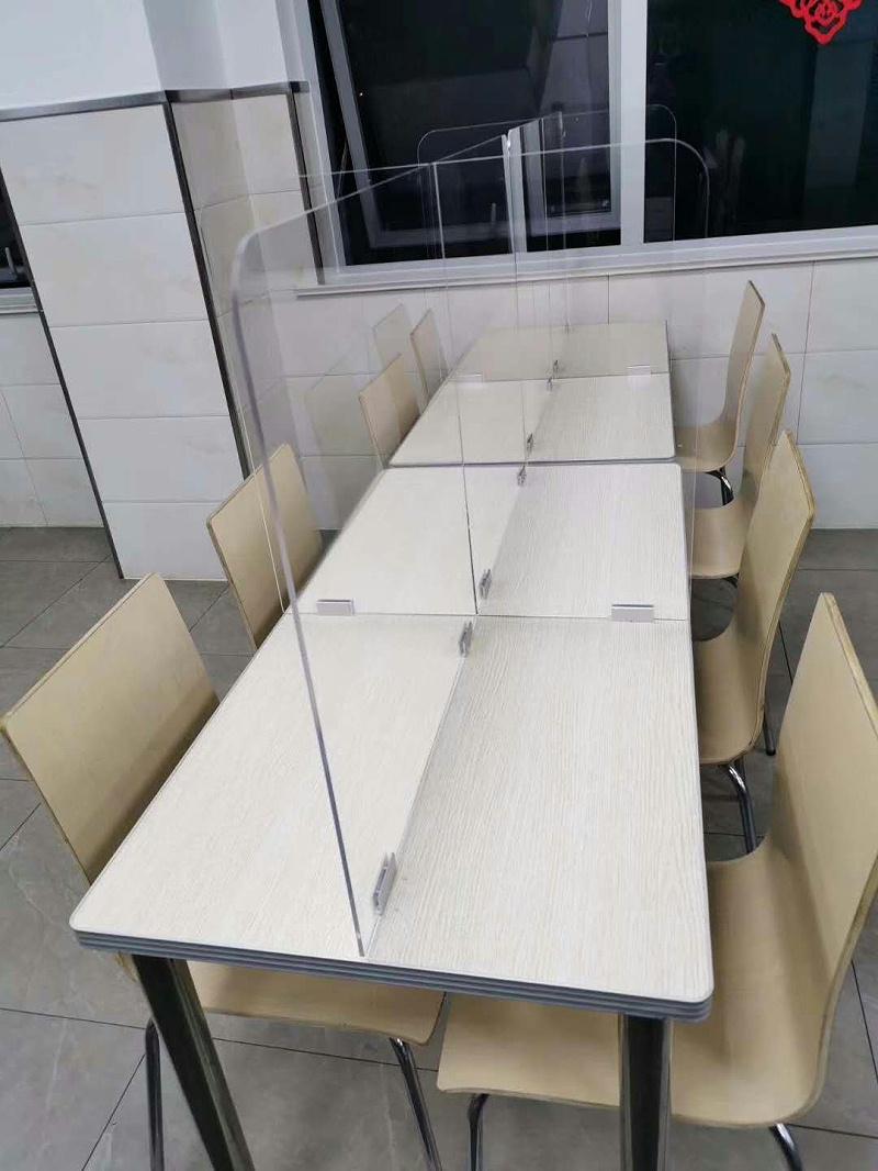 食堂隔离板