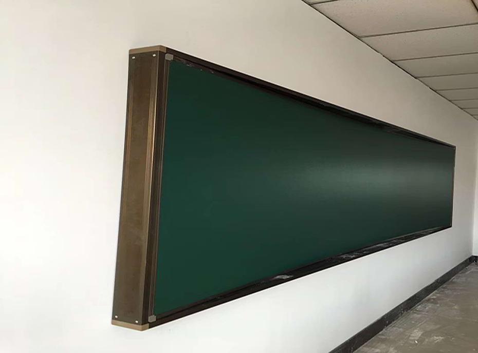 优雅乐弧形黑板
