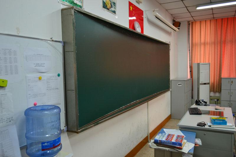 弧形教学黑板